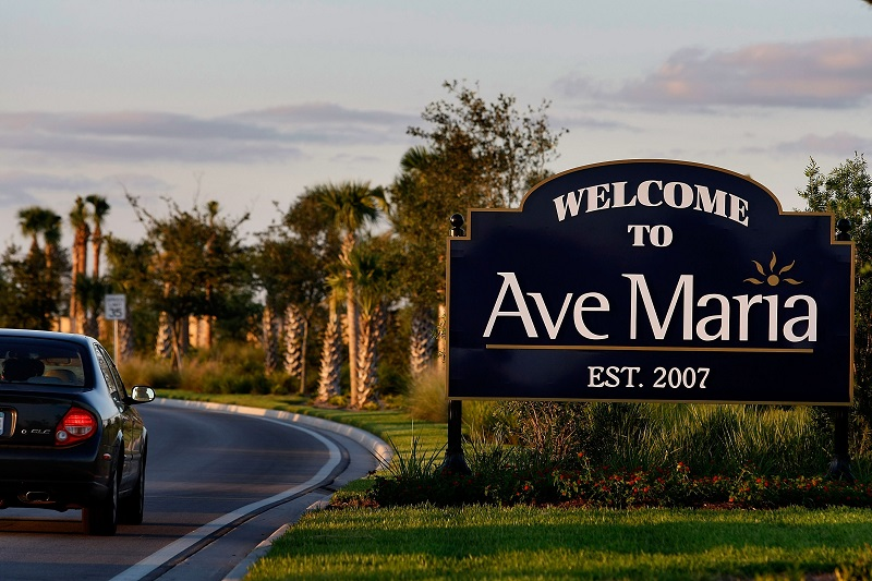 Ave Maria, FL   Joe Raedle/Getty Images