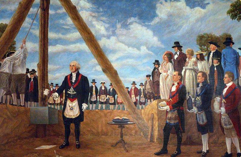 Founding fathers and Freemasons