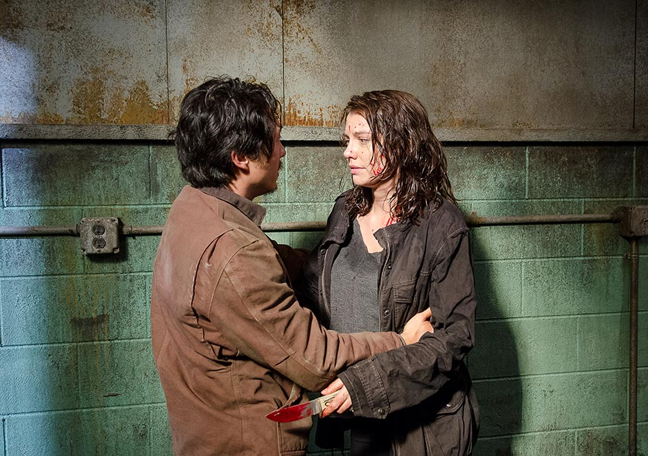 Glenn and Maggie, TWD