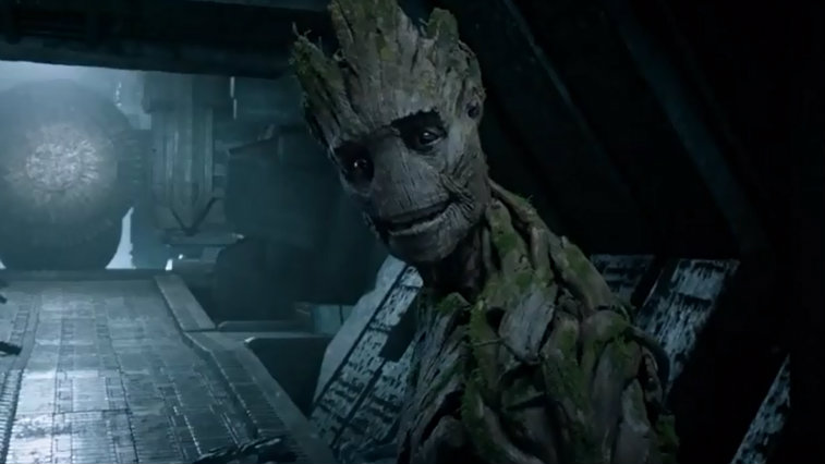 Vin Diesel voices Groot in Guardians of the Galaxy
