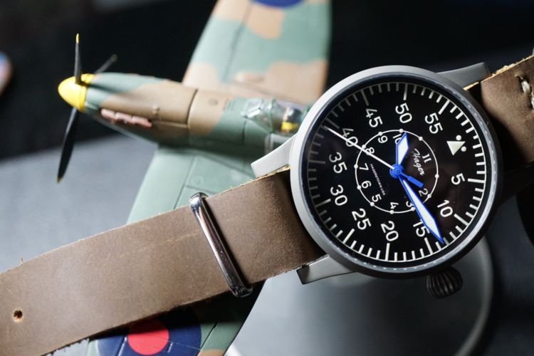 Flieger watch by Hager