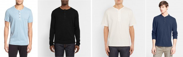 Men's henleys