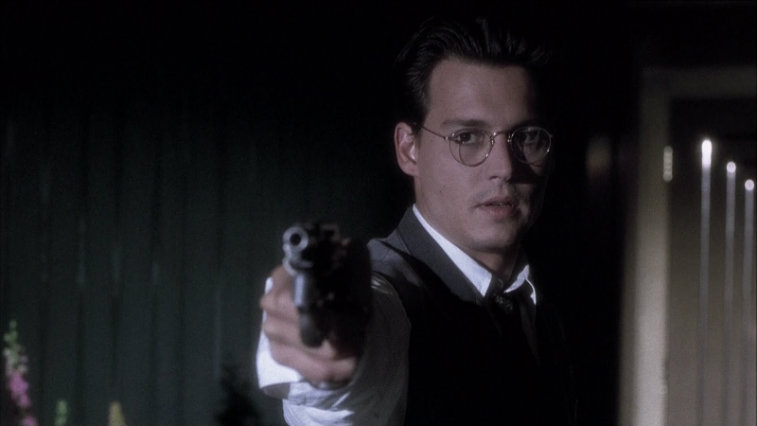 Johnny Depp in Nick of Time