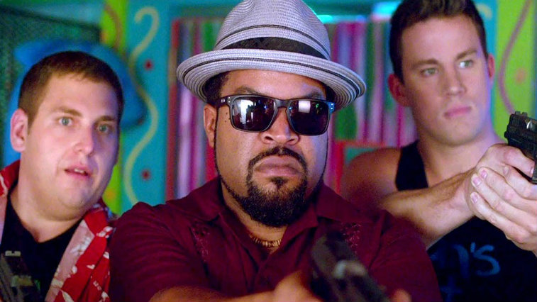 Jonah Hill, Ice Cube and Channing Tatum in 22 Jump Street