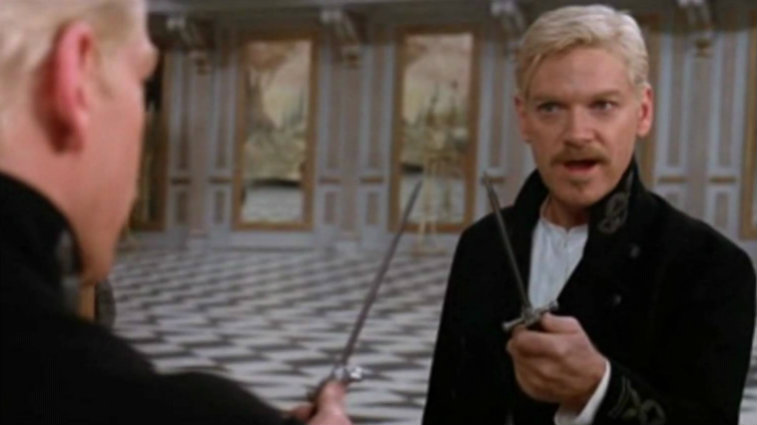 Kenneth Branagh in Hamlet