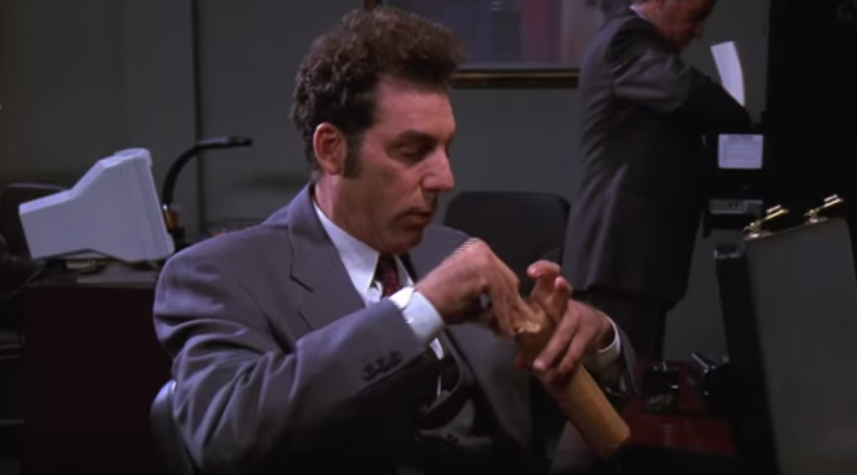 Kramer from Seinfeld