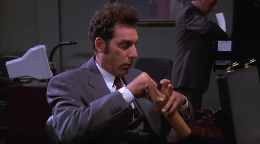 Kramer from Seinfeld