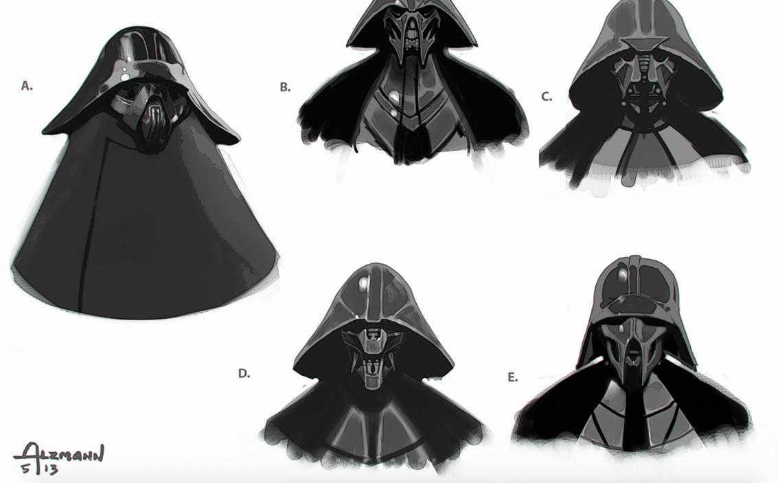 Star Wars - Kylo Ren Concept Art