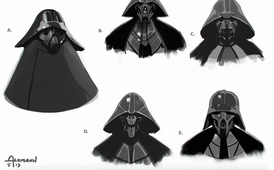 Star Wars - Kylo Ren Concept Art