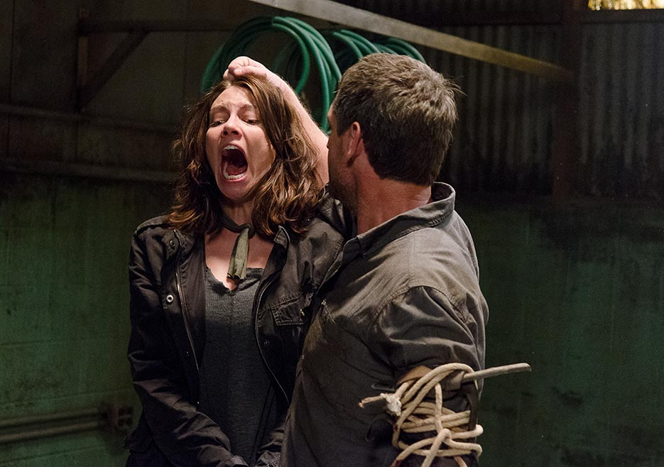 Maggie (Lauren Cohan) on TWD.