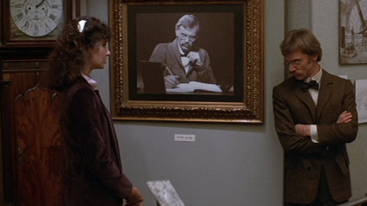 Mary Steenburgen and Malcolm McDowell in Time After Time