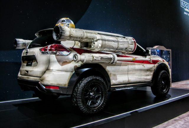 Star Wars-themed Nissan Rogue
