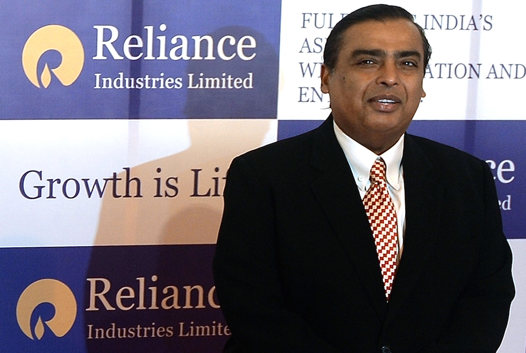 Mukesh Ambani is the richest person born in 1957