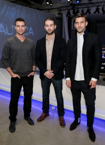 stylish men wearing business casual outfits