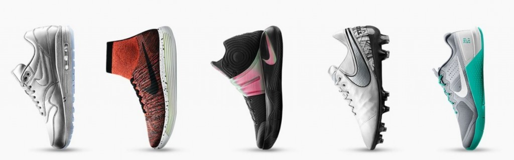NikeiD customized shoes
