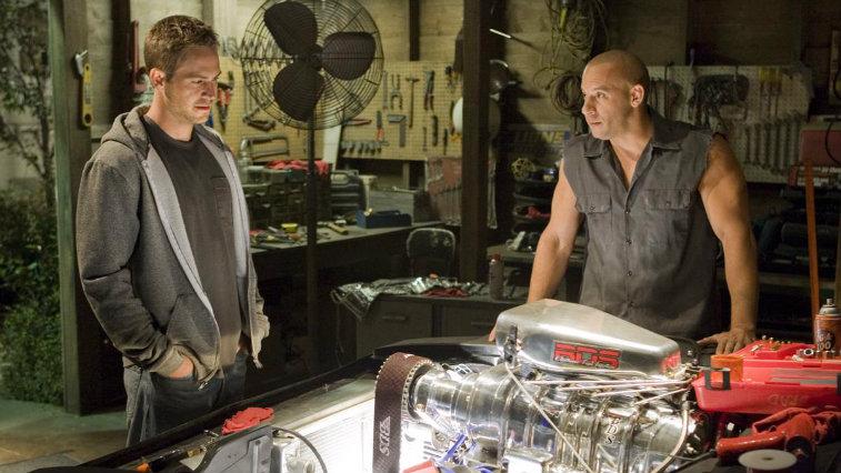 Paul Walker and Vin Diesel in Fast & Furious
