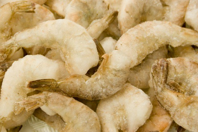 frozen raw shrimp