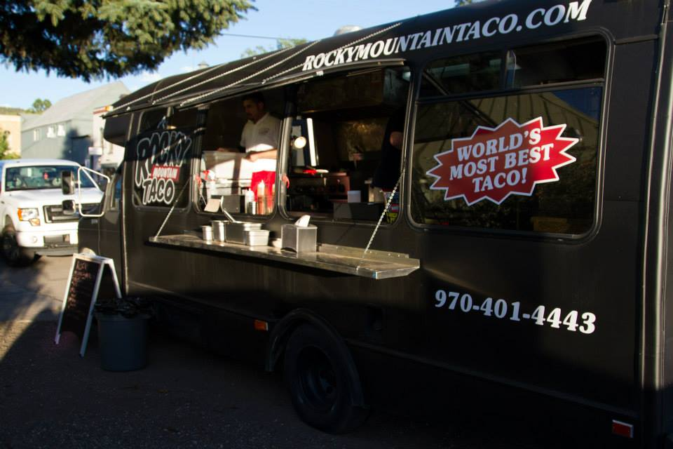 Rocky Mountain Taco food truck