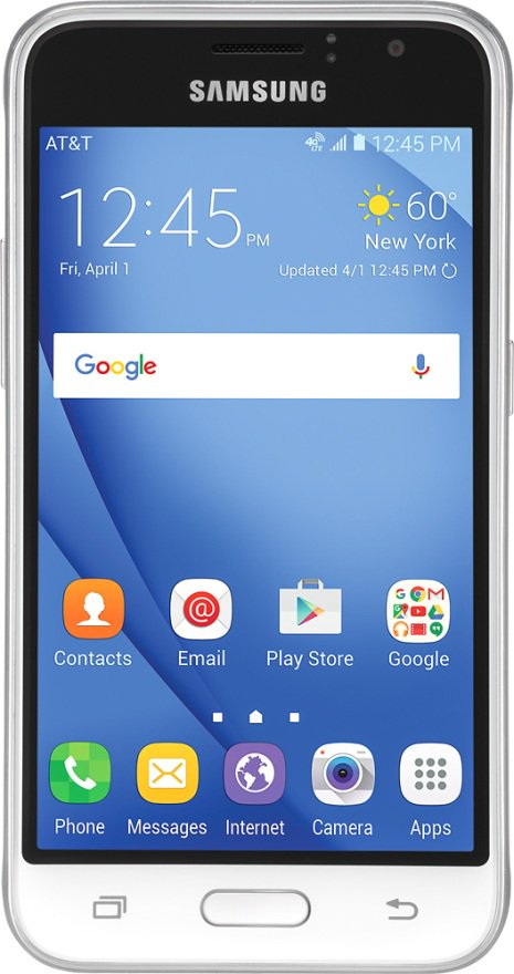 Samsung J1 for AT&T via Evan Blass