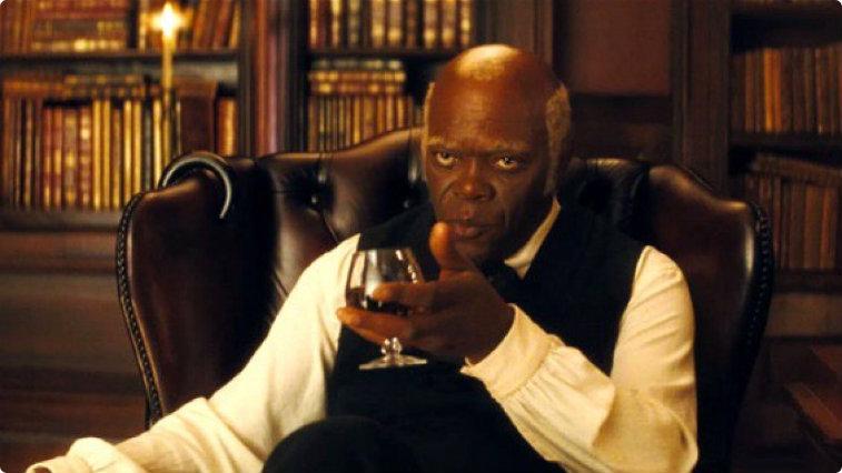 Samuel L. Jackson in Django Unchained2