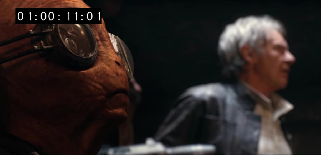 Maz Kanata - Star Wars: The Force Awakens, Deleted Scenes