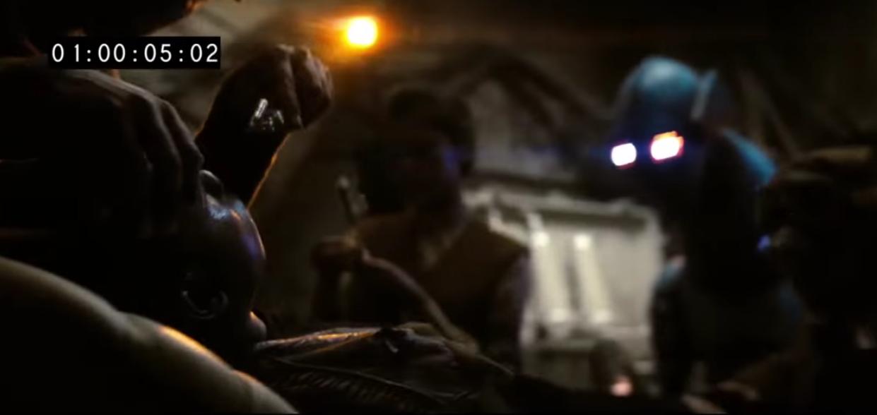 Finn - Star Wars: The Force Awakens, Deleted Scenes