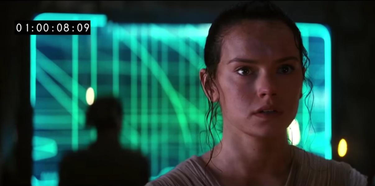 Rey - Star Wars: The Force Awakens, Deleted Scenes