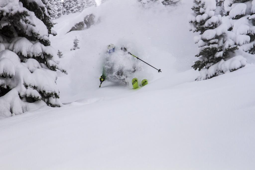 Skier at Jackson Hole