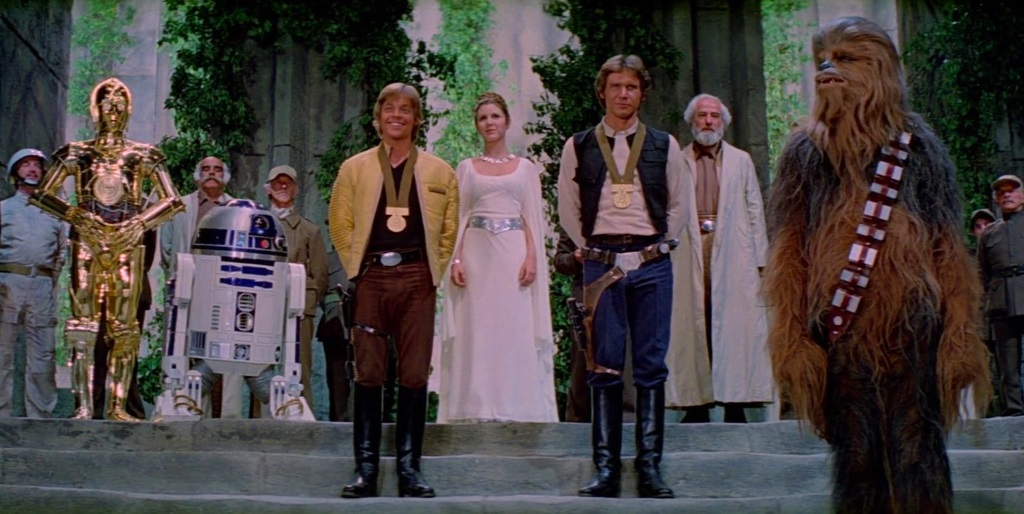 Star Wars - A New Hope - medal ceremony