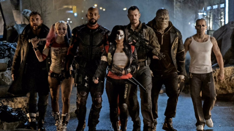 Suicide Squad DC movie, DC Comics, Warner Bros.