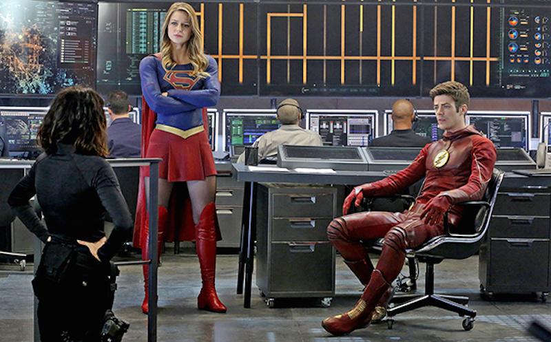 Supergirl / Flash crossover