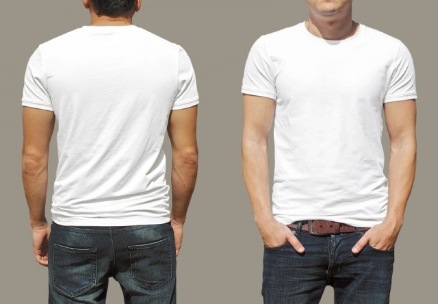 A white tee is one of the simplest and most versatile ways to channel 1950s summer style