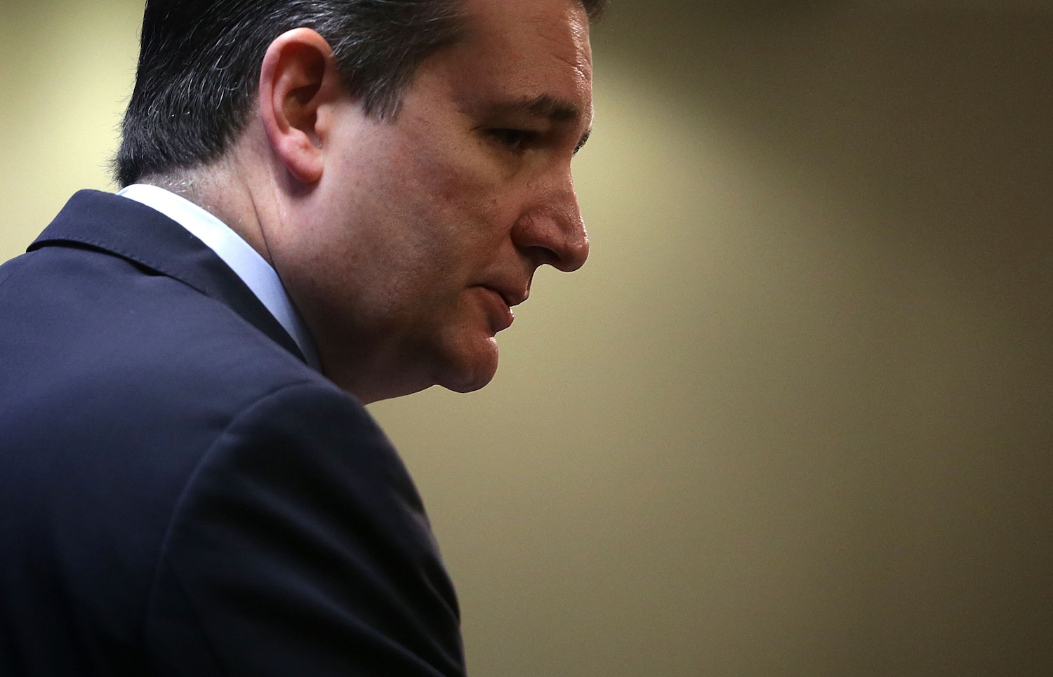 Ted Cruz failed in his presidential campaign.