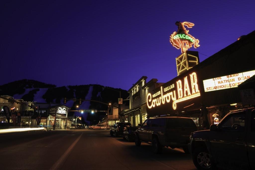 The Million Dollar Cowboy Bar at Jackson Hole
