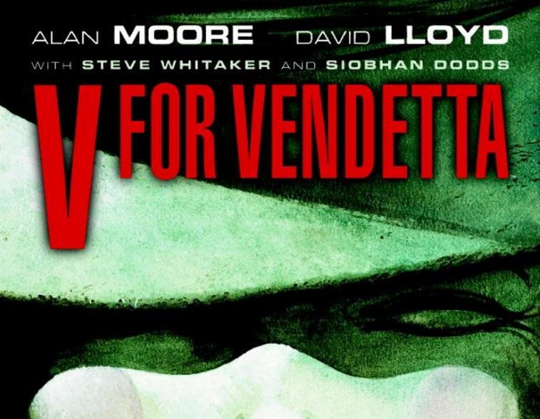 graphic novel, V for Vendetta