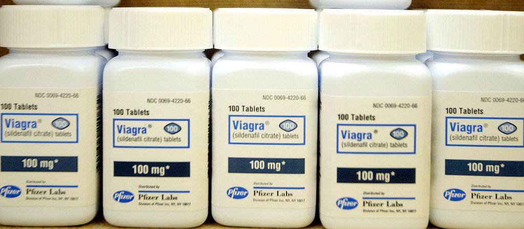 pill bottles of Viagra