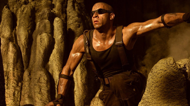 Vin Diesel in Pitch Black
