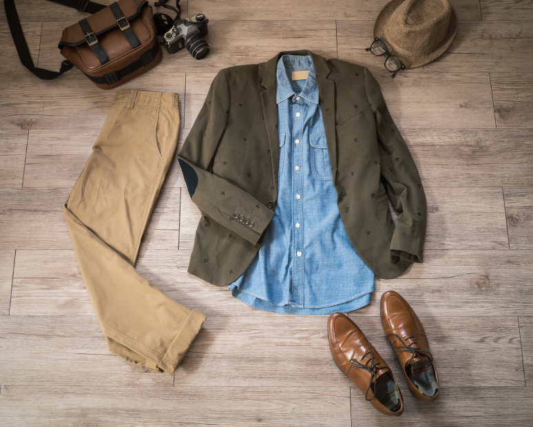 male clothing and shoes