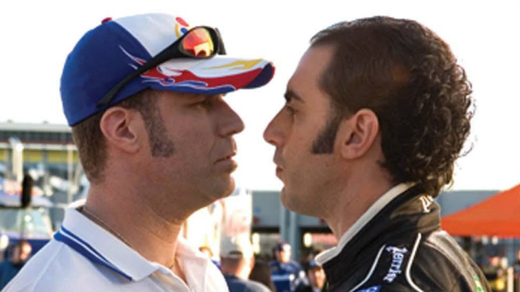 Will Ferrell and Sacha Baron Cohen in Talladega Nights The Ballad of Ricky Bobby