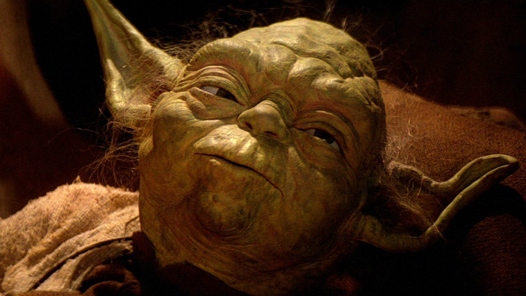 Yoda in Star Wars Return of-the Jedi