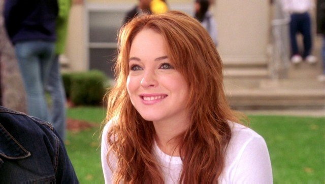 Lindsay Lohan as Cady in a scene from 'Mean Girls'