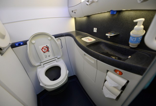airplane bathrooms