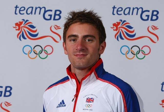 headshot of Andrew Steele in his Olymic gear leading up to the games