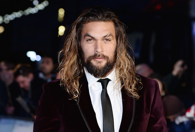 Jason Momoa stars as Aquaman in the movie.