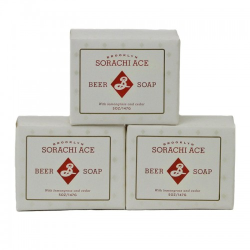 beer soap, sorachi ace, brooklyn brewery