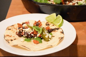 Make These Chorizo-Black Bean Tacos in Just 20 Minutes