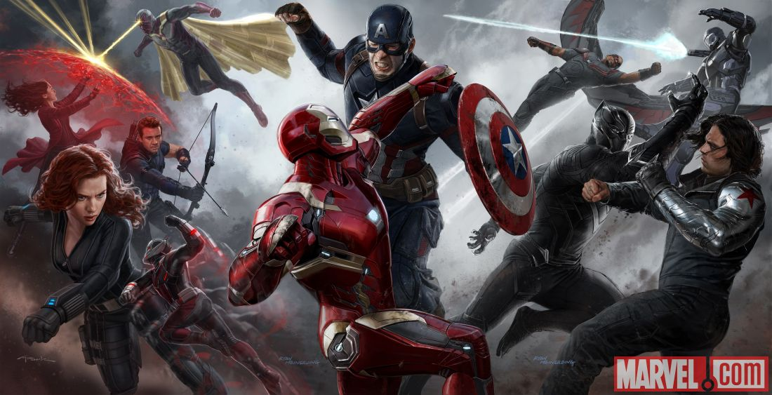 Captain America: Civil War - Marvel