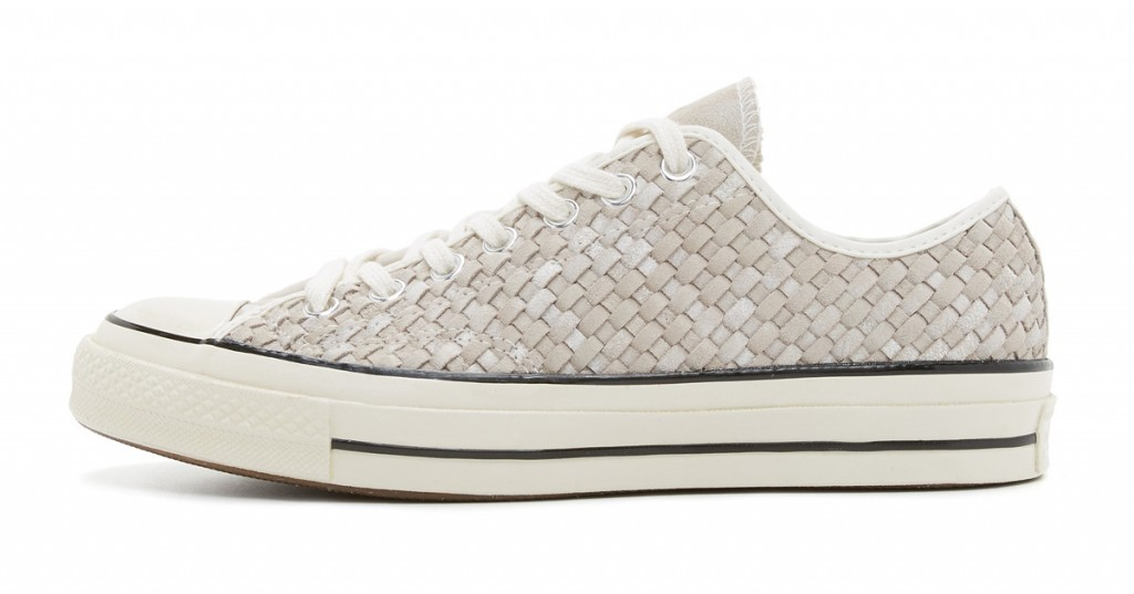 Converse Chuck Taylor All Star Woven Leather Sneakers