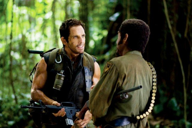 Ben Stiller and Robert Downey Jr. in 'Tropic Thunder'