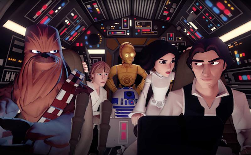The Star Wars characters in Disney Infinity 3.0, rumors